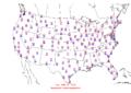 2006-02-28 Max-min Temperature Map NOAA.png