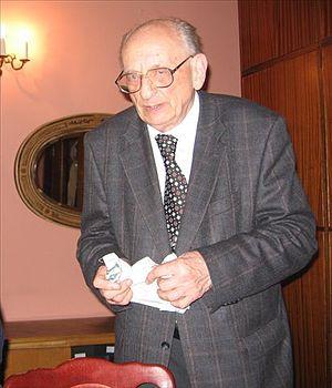 Władysław Bartoszewski - Polish PEN Club, Warsaw 2006