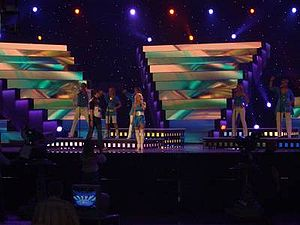 Estonia in the Eurovision Song Contest - Image: 2006ee Rehearsal