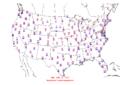 2007-02-14 Max-min Temperature Map NOAA.png