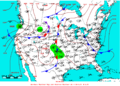 2007-06-14 Surface Weather Map NOAA.png