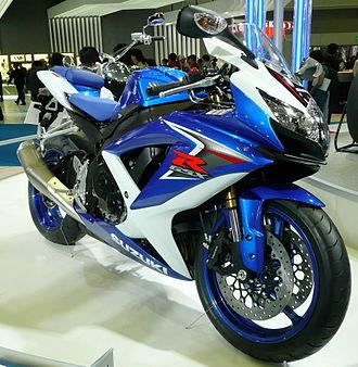 Suzuki GSX-R600 - Image: 2007TMS Suzuki GSX R 600