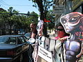 2007 08 11 Scientology protest with David S. Touretzky 03.jpg