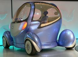 EV concept car: nissan pivo 3 at tokyo motor show