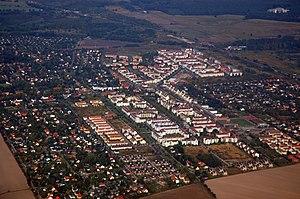 Karow (Berlin) - aerial view of the quarter