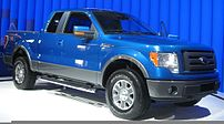 2009 Ford F-150 photographed at the 2008 Washi...