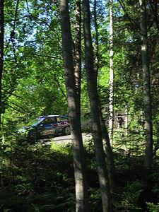 2009 Rally Finland shakedown 10.JPG