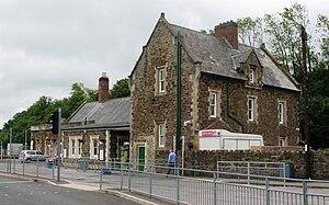 Barnstaple railway station - Image: 2009 at Barnstaple railway station main building