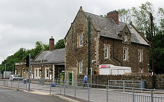 Barnstaple railway station - Image: 2009 at Barnstaple railway station main building