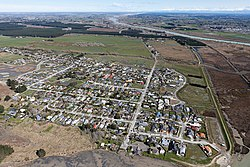 Brooklands just after the 2010 Canterbury earthquake