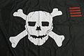 """2010-107-8 Flag, """"Jolly Roger"""" USS Hawes FFG-53 (5285555603).jpg"""