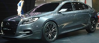 Renault Samsung SM7 - The Renault Samsung SM7 unveiled in 2011.