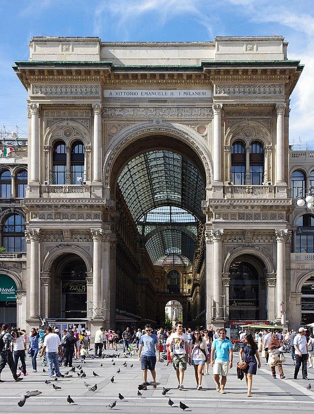 20110724 Galleria Vittorio Emanuele II Milan 5410
