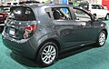 2012 Chevrolet Sonic LT hatch rear -- 2011 DC.jpg