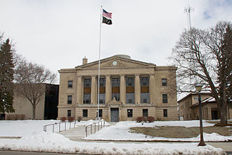 Sibley County, Minnesota - Image: 2013 0415 Sibley Cty Courthouse