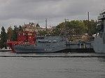 2013-08-30 Севастополь. Тральщик M1061 Rottweil ВМС Германии (4).JPG