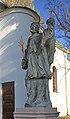 2013 Karwina, Raj, Pomnik św. Jana Nepomucena 02.jpg