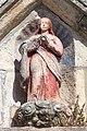 2014. Escultura na igrexa de Caamaño. Porto do Son. Galiza-C4.jpg