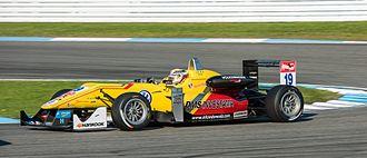 Antonio Giovinazzi - Giovinazzi at the Hockenheimring round of the 2014 FIA Formula 3 European Championship