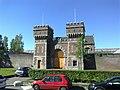 2015, Scheveningen Prison The Hague, old main gate (05).jpg