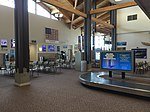 2015-05-05 10 55 38 Passenger waiting area and luggage pick-up area within the terminal at the Elko Regional Airport in Elko, Nevada.jpg