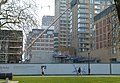2016 Woolwich, Crossrail Station construction site 05.jpg