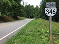 2017-06-27 10 51 39 View north along Virginia State Route 346 (Fairystone Lake Drive) at Virginia State Route 57 (Fairystone Park Highway) in northeastern Patrick County, Virginia.jpg