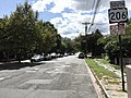 2017-09-09 13 47 02 View south along U.S. Route 1 Business and U.S. Route 206 (Martin Luther King Junior Boulevard) at Southard Street in Trenton City, Mercer County, New Jersey.jpg