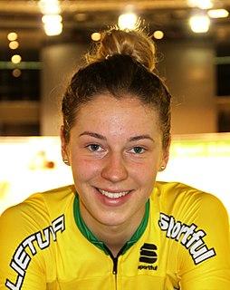 Olivija Baleišytė Lithuanian cyclist