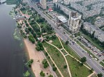 2018-07-13 Aerial photograph of Dniprovska Embankment, Kyiv, Ukraine.jpg