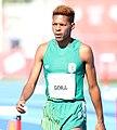 2018-10-16 Stage 2 (Boys' 400 metre hurdles) at 2018 Summer Youth Olympics by Sandro Halank–064.jpg