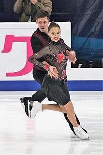 Annabelle Morozov Russian ice dancer