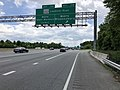 2019-05-27 13 24 48 View south along the inner loop of the Capital Beltway (Interstate 95 and Interstate 495) at Exit 17B (Maryland State Route 202 North-Landover Road, Bladensburg) in Summerfield, Prince George's County, Maryland.jpg