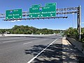 2019-06-14 16 17 40 View southeast along the Outer Loop of the Baltimore Beltway (Interstate 695) at Exit 11B-A (Interstate 95, Washington, Baltimore) in Arbutus, Baltimore County, Maryland.jpg