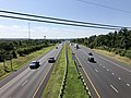 2019-07-24 10 15 19 View south along Interstate 270 (Washington National Pike) from the overpass for New Design Road in Ballenger Creek, Frederick County, Maryland.jpg