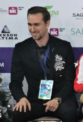 Daniil Gleichengauz - Daniil Gleikhengauz at the 2019 Russian Figure Skating Championships