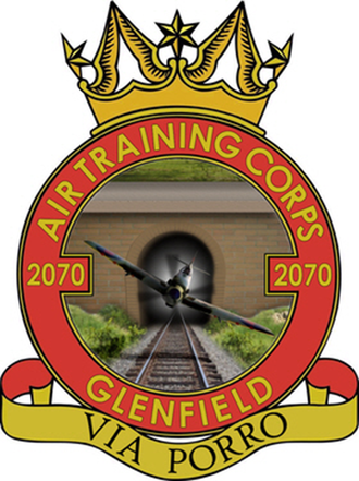 Astral crown - Image: 2070 (Glenfield) ATC Squadron Crest
