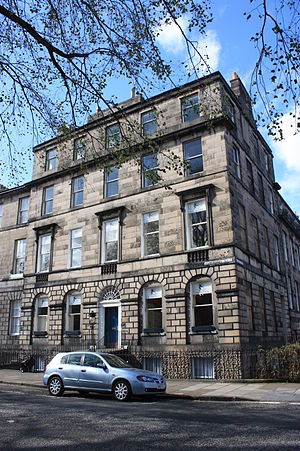 William Edmondstoune Aytoun - Image: 21 Abercromby Place, Edinburgh