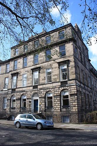 William Edmondstoune Aytoun - Image: 21 Abercromby Place, Edinburgh