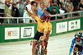 231000 - Cycling track Darren Harry Paul Clohessy celebrate - 3b - 2000 Sydney race photo.jpg