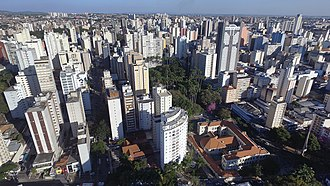 Campinas - Panoramic photo of Center neighborhood.