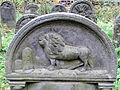 251012 Detail of tombstones at Jewish Cemetery in Warsaw - 09.jpg