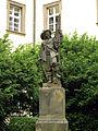 257 Klementinum, estàtua de l'Estudiant.jpg