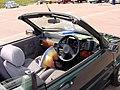 258 - February 1996 green Rover 100 Cabriolet 1.4, interior.jpg