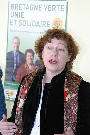 Marie-Christine Blandin - Marie-Christine Blandin in 2004