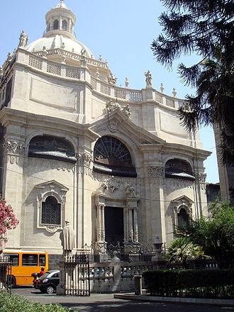Giovanni Battista Vaccarini - Chiesa della Badia di Sant'Agata