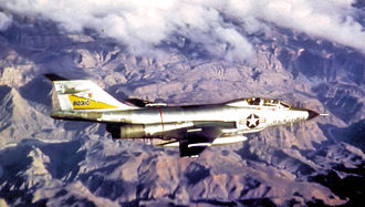 Malmstrom Air Force Base - 29th Fighter-Interceptor Squadron McDonnell F-101B-110-MC Voodoo Great Falls AFB, Montana March 1964