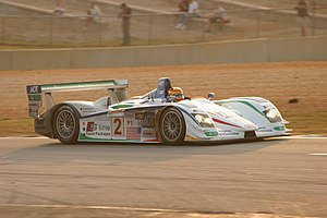 Champion Racing - Champion Racing's Audi R8 during the 2005 Petit Le Mans.