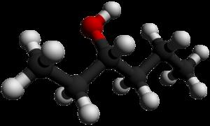 3-Hexanol - Image: 3 Hexanol 3D balls by AHRLS 2012