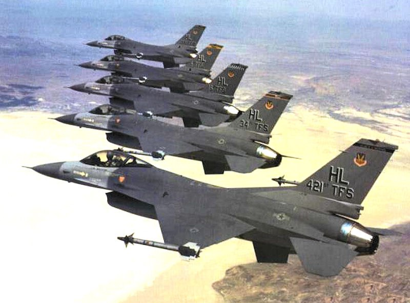 388th Fighter Wing - F-16 Fighting Falcons
